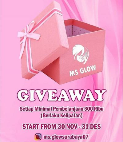 Kuy Ikutan Giveawaynya Berhadiah 1 Buah RED JELLY dari Ms.glowsurabaya07