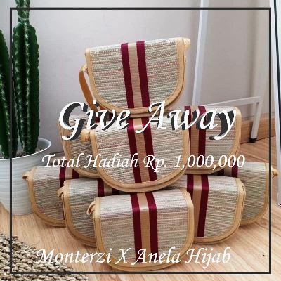 Yuk Ikutan Giveaway Berhadiah Uang TunaiSeninai 1 Juta dari Monterzi