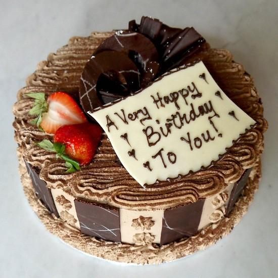 Kue ulang tahun buatan sendiri