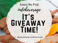 Giveaway Time! Berhadiah Pulsa dari Jamu Bu Puji Indobeverage, Yuk Ikutan!